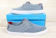 Lakai Men's MJ Skate Boarding Shoes Stonewash Canvas Size 8