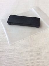 Technics SL 1200 1210 DJ Turntable Hingeless Dustcover Rear Rubber Foot Cover