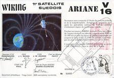 SUR DOCUMENT / ARIANE V 16 / SATELLITE SUEDOIS / LANCEMENT ARIANE // KOUROU 1986