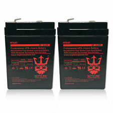 2 Pack - 6V 4.5Ah Game Deer Feeder Mojo Duck Rechargeable Battery