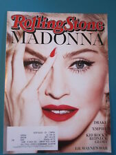 Madonna Rolling Stone magazine Issue 1230 March 12, 2015