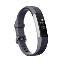 Fitbit ALTA HR Fitness-armband Blue Gray Gr. s
