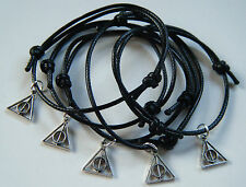 6 Harry Potter Deathly Hallows Theme Bracelets Party Bag Fillers Hen Gift
