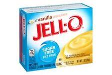 Jello Sugar Free INSTANT Vanilla Pudding 28g