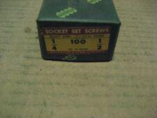 1/4-20X1/2 OVAL PT ALLOY SET SCREW 200PCS (AA7631-200)