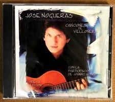 """JOSE NOGUERAS - """" CANCIONES DE VELLONERA"""" - FEAT : JOHNNY ALBINO - CD"""