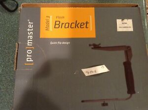 ProMaster  Flash Bracket 3 NEW 1103.