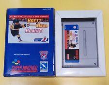 Brett Hull Hockey GIOCO SNES Super Nintendo