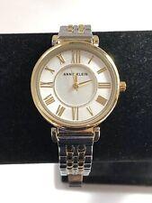 Anne Klein SS Silver & Gold Ladies Watch, AK/2159, Y121E, Gorgeous Big Face
