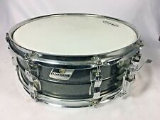 """Ludwig Acrolite Snare 5""""x14"""" Black Galaxy Sparkle 90s Classic"""
