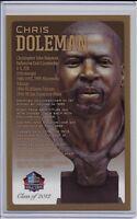 Chris Doleman Pro Football Hall of Fame Bronze Bust Card 100/150