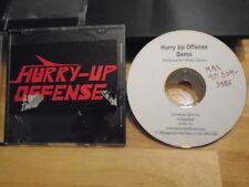 RARE PROMO Hurry-Up Offense DEMO CD Fortune Zero Co. punk Mikki James unreleased