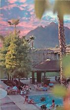 c1980s Doubletree Inn Swimming Pool, Scottsdale, Arizona Postcard