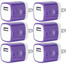 6x USB Wall Charger Power Adapter AC Home US Plug FOR iPhone 6 7 8 X Samsung Lg