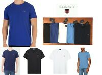 GANT Men's Crew Neck Short Sleeve The Original T-Shirt Cotton Tee