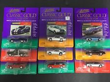 Johnny Lightning Classic Gold Collection - Lot of 9 NEW