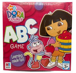 Nick Jr. Dora The Explorer ABC Board Game - Milton Bradley NEW IN SHRINK