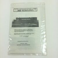 Microscale Decal Southern Pacific New Colors HO 87-186 Krasel Cotton Belt