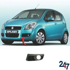 NEW SUZUKI SPLASH 08-2012 FRONT BUMPER FOG LIGHT COVER GRILL WITH HOLE LEFT N/S