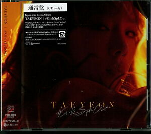 TAEYEON-#GIRLSSPKOUT-JAPAN CD F56