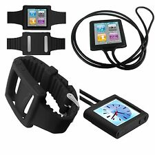 iPod nano 6 case watchband nano 6 cover Necklace Strap Bracelet Case for ipod