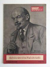 19.4.1964 Heft 16 Sowjetunion heute Lenin Tag der Kosmonautik Südkirgisien TOP