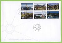 Norway 2007 Tourism, self adhesives set First Day Cover