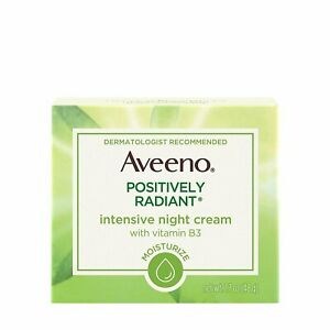 Aveeno Positively Radiant Intensive Moisturizing Night Cream with Total Soy