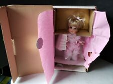 Maryse Nicole Porcelain Doll Peanut 309 Girl Porcelain Doll C1262 Franklin Mint
