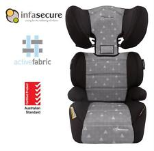 Br New Infa Secure Vario Treo Booster Car Seat 4-8 years Kid Child Toddler Grey