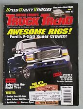 Truck Trend Feb 2000 - Dodge Ram - BMW X5 - Mercedes-Benz ML55 - GMC Sierra