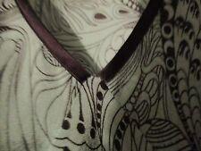 Pure Silk Miss Selfridge formal vest green paisleyish size 6