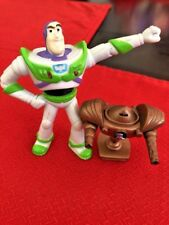 Lot of 2 Disney's Pixar Zurg & Buzz Lightyear   Figurines Toy Story