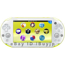Sony PlayStation Vita Wi-Fi Lime Green & White Console PCH-2000 ZA13 FROM JAPAN