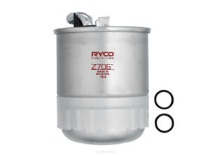 Ryco Fuel Filter Z706 fits Jeep Grand Cherokee 3.0 CRD 4x4 (WH,WK)