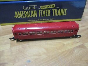 American Flyer 650 red coach (5/19/21)
