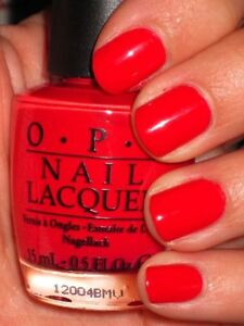 OPI Nail Polish RED LIGHTS AHEAD...WHERE? NL H61 Holland Collection - LIMITED