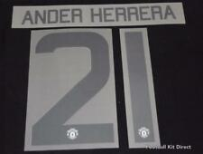 Manchester United Ander Herrera Football Shirt Name/Number Europa/League Cup T