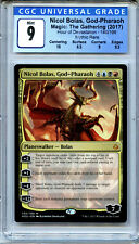MTG Nicol Bolas God Pharaoh CGC 9 MInt Magic Mythic Rare card Amricons 5218