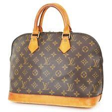 Authentic LOUIS VUITTON Alma Monogram Hand Bag Purse #37468