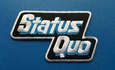 Status Quo Sew or Iron On Patch