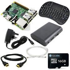 16GB KODI Media Centre with Raspberry Pi 3 1GB Quad Core Mini QWERTY Keyboard