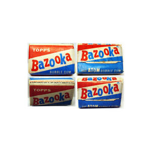 1958 Topps Bazooka Atom Gum w/Comic Unopened (one piece) Rare