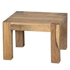 Pali Couchtisch 70x70cm Wohnzimmertisch Beistelltisch Akazie Echtholz Holztisch