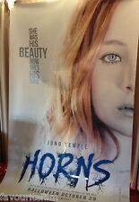 Cinema Banner: HORNS 2014 (Juno Temple) Max Minghella Daniel Radcliffe