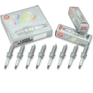 8 pcs NGK Laser Platinum Spark Plugs for 2003-2010 Infiniti M45 4.5L V8 - vm