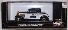 MILLER GENUINE DRAFT 1:25 Scale Die Cast Model A Coupe Street Rod Collectible