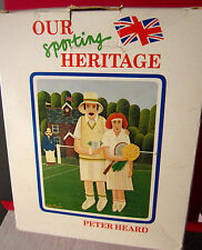 PETER HEARD artist tennis jigsaw puzzle 1983 import British UK Trolbourne Lmtd
