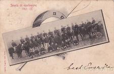 * GAETA - Militare - Scuola di Equitazione 1901-02