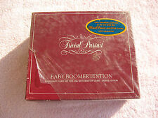 BABY BOOMER Edition TRIVIAL PURSUIT Game Never Opened